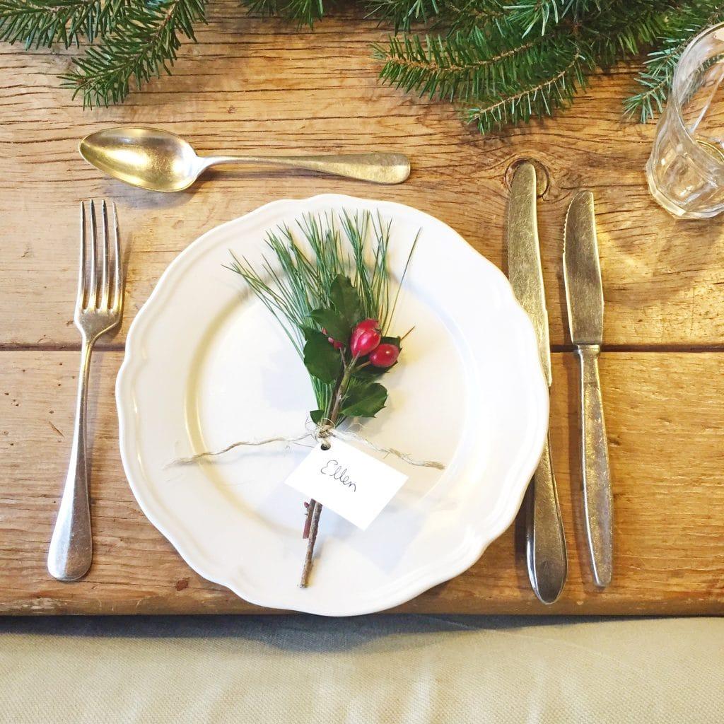 Kerst tafel dekken tips  inspiratie  Made by Ellen
