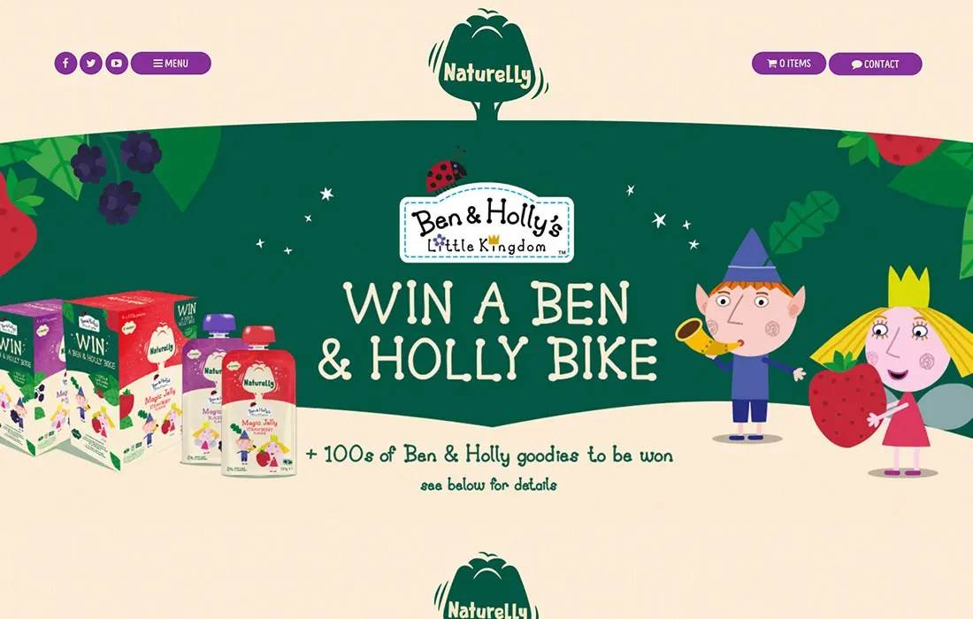 Ben and Holly Naturelly Made By Factory