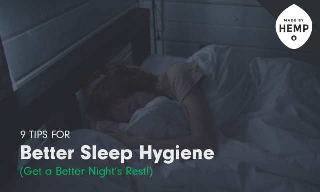 better sleep hygiene natural