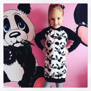 sweater dress_zwart-panda 2