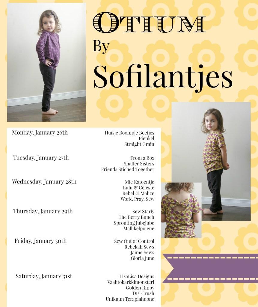 Otium Pattern Tour by Sofilantjes | JaimeSews