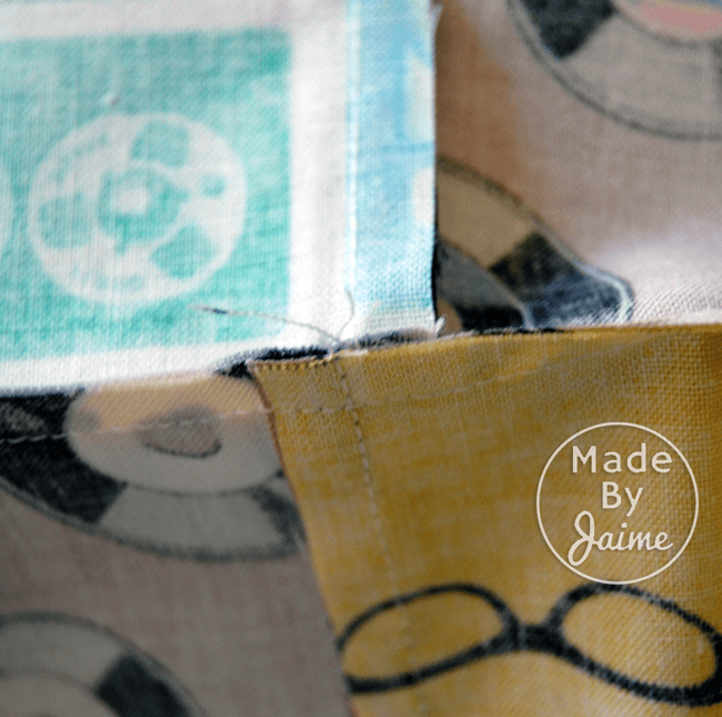 FREE Beginner's Quilt Pattern by MadeByJaime | Gracious Threads Baby Shower