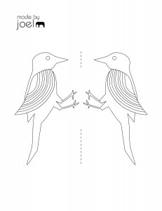 Made by Joel » Made by Joel Woodpecker Toy Coloring Template