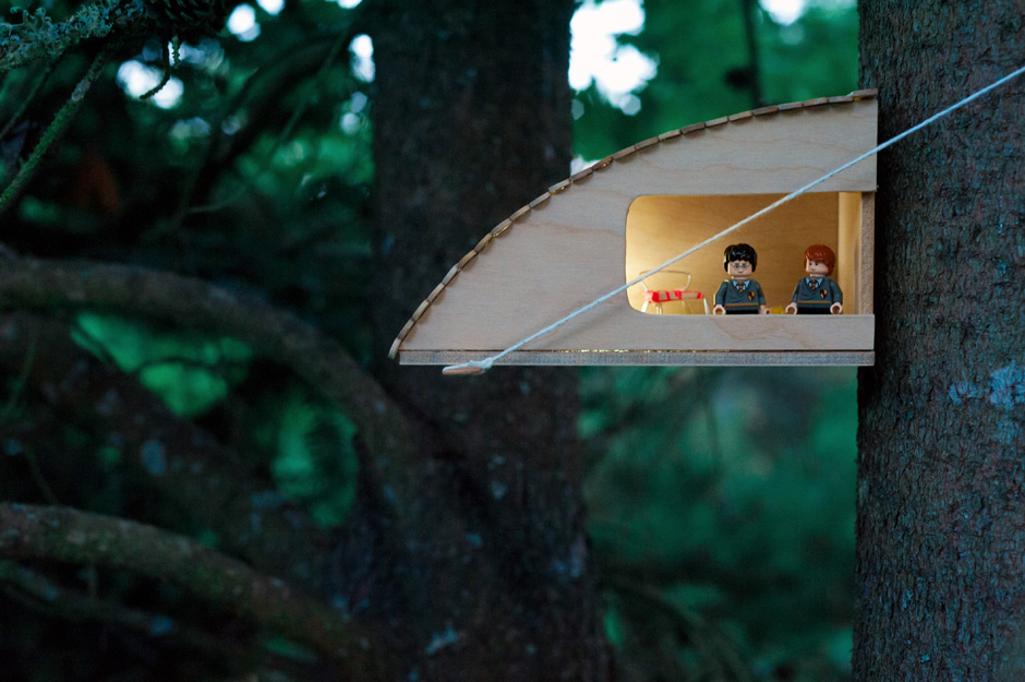 Made by Joel  Harry Potters Getaway Treehouse