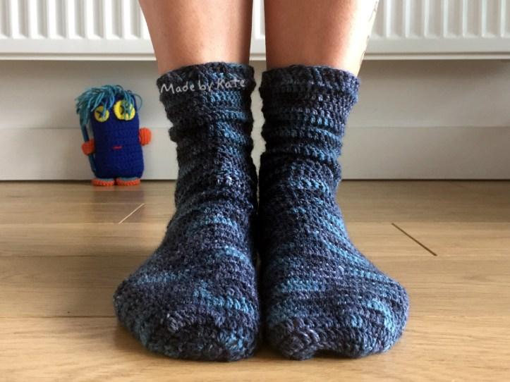 crochet socks kate alinari