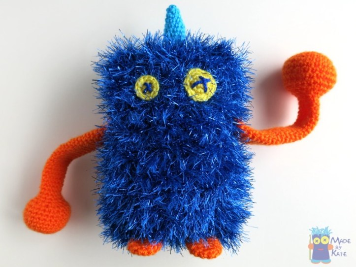 Scratch Amigurumi monster