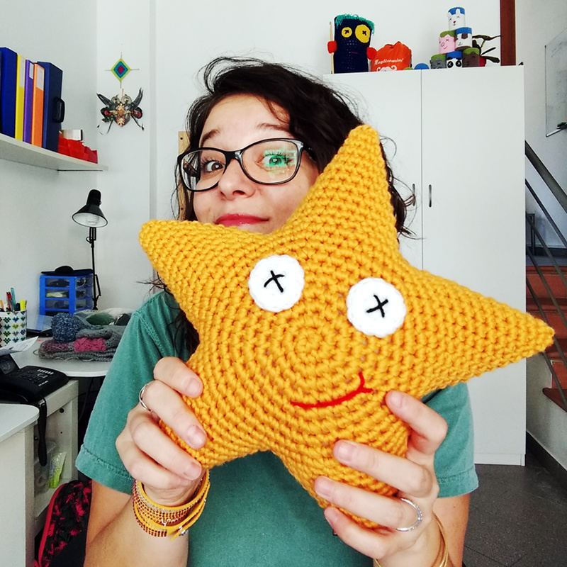 MaryJ Handmade: Stella di Natale all'uncinetto | How to crochet a ... | 800x800