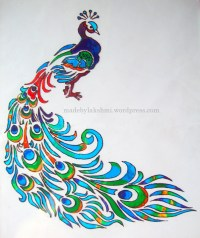 Glass Painting Tutorial   M@de by Lakshmi