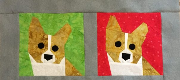 More Dog Paper Piecing Patterns Made By Marney