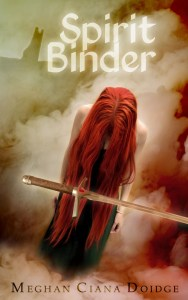 Spirit Binder book cover by Irene Langholm