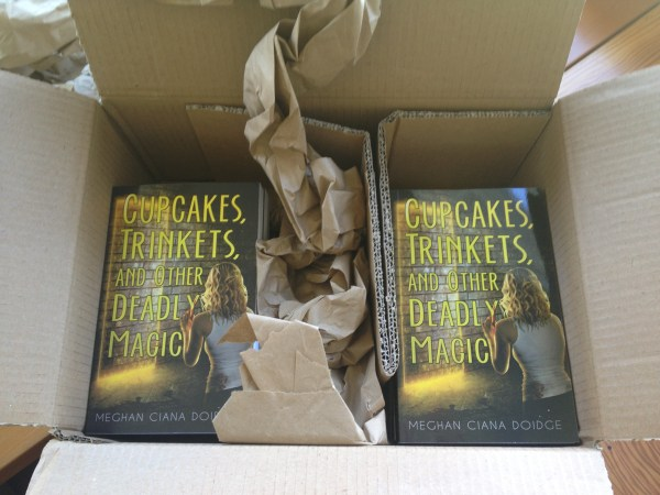 First print run of Cupcakes, Trinkets & Other Deadly