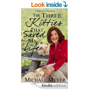 Three Kitties That Saved My Life ebook cover