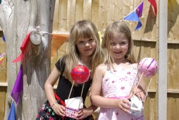 Hot air balloon craft party for children