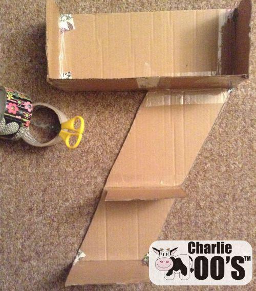 Cardboard Pinata DIY