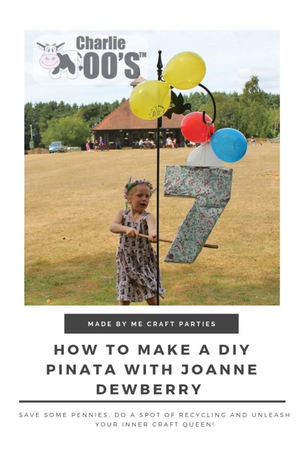 DIY Number 7 Pinata Making
