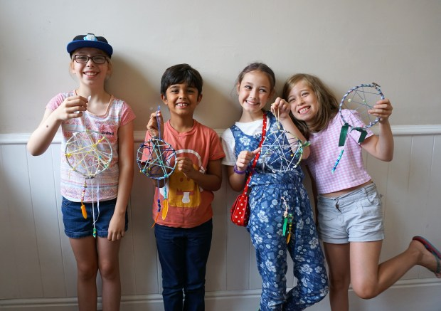 Summer holiday activities for creative children in Bournemouth, Poole and Dorset
