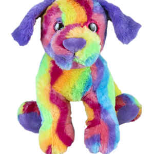 rainbow dog teddy making kit