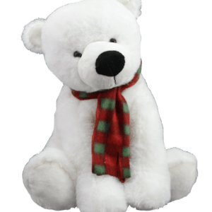 Polar bear teddy bear to make
