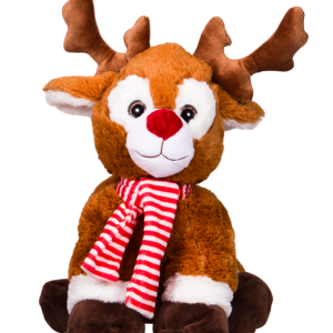 Rudolph reindeer teddy bear to make