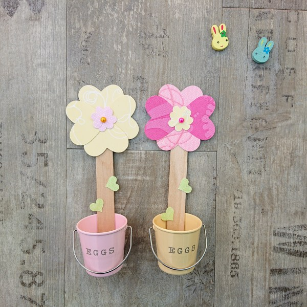 Easter craft kit. Make your own flower bookmark