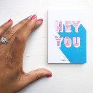 Hey You - my new promo cards