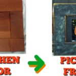 Ikea Hack:  Kitchen doors to Picture Frame