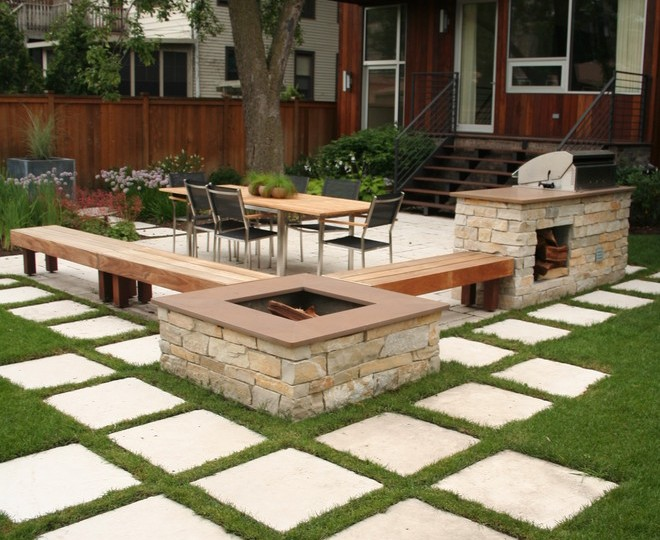 Magnificent Landmann Fire Pit In Patio Contemporary With Cheap