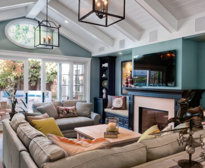 Beautiful Living Rooms With Tv