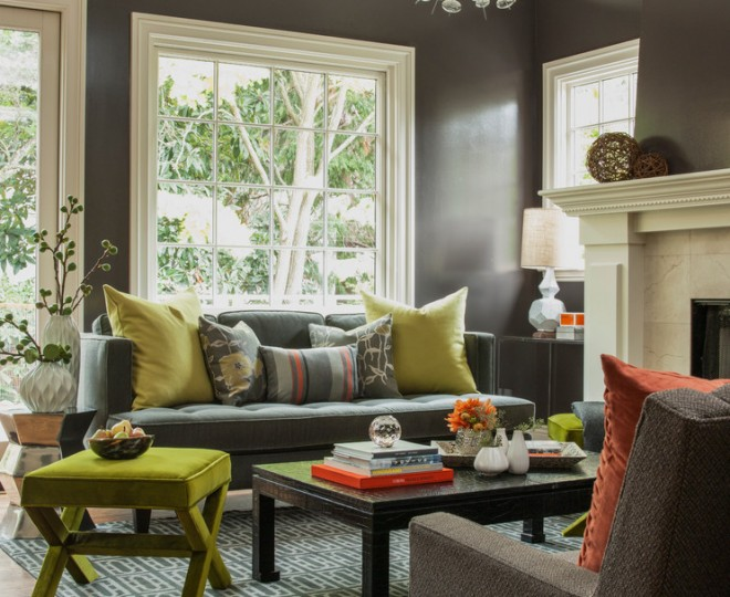 Inspired interior paint color by Ann Lowengart Interiors