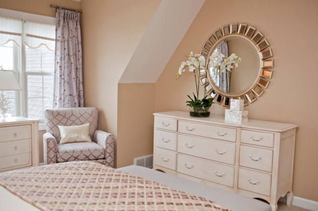 Magnificent mirrored dresser in Bedroom Contemporary with ...