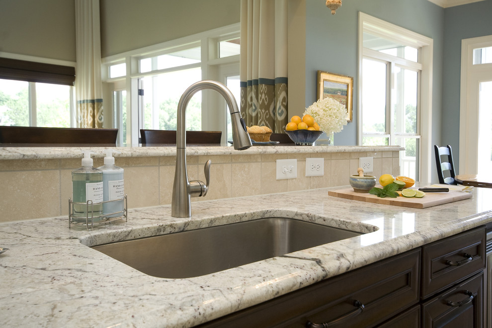 Cool moen faucets in Kitchen Traditional with New Bianco