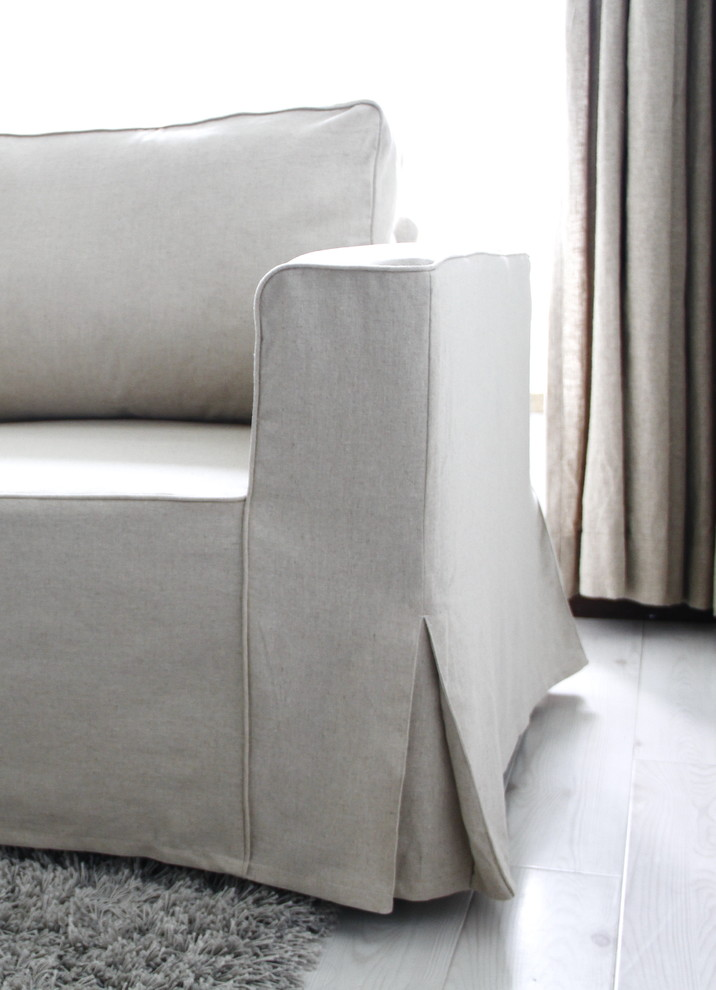 custom chair covers ikea pushchair accessories cool sure fit slipcovers in living room contemporary with white slipcovered sofa next to dining ...