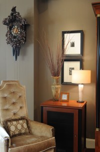 Glamorous coo coo clock in Living Room Contemporary with ...