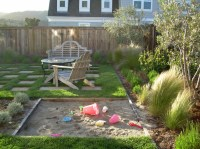 Gorgeous sandboxes in Landscape Traditional with ...