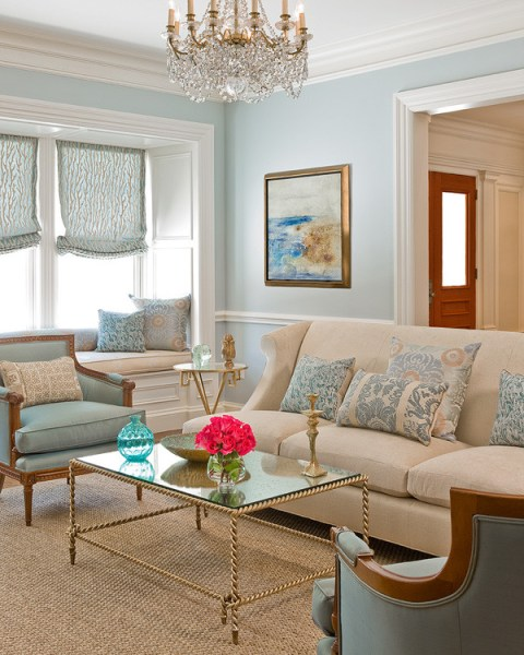 light blue carpet living room Gorgeous sisal rugs in Living Room Traditional with Light