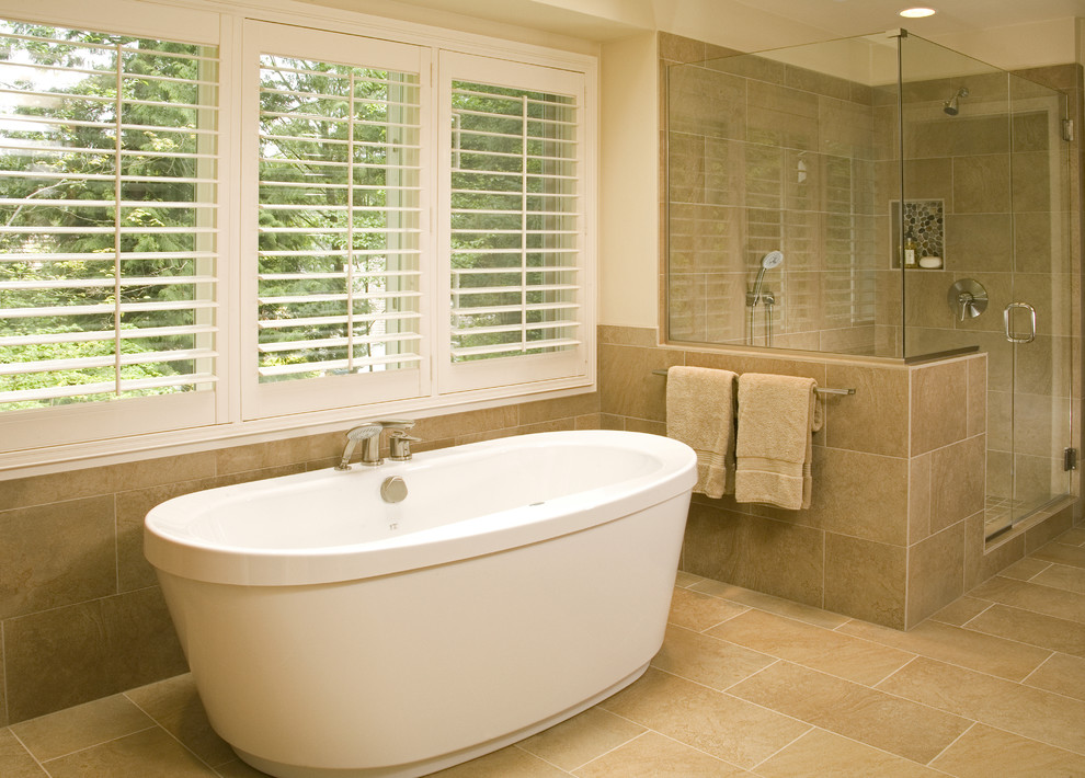 Impressive Freestanding Tubs In Contemporary Seattle With