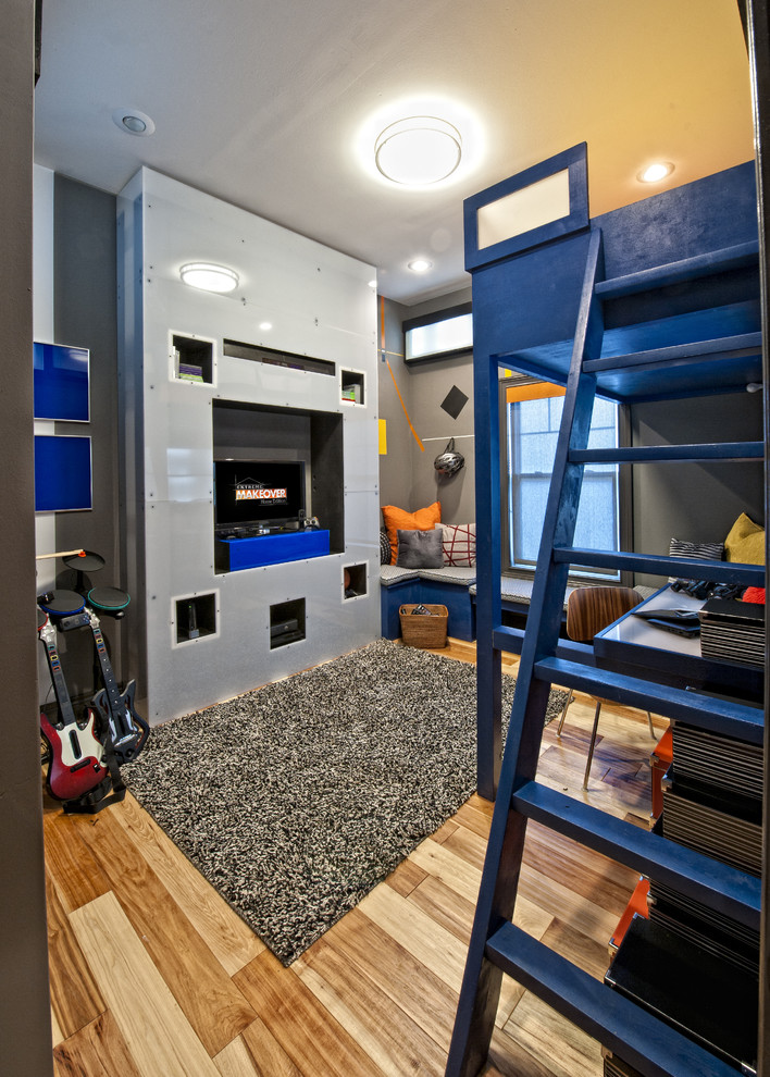 Pretty Loft Beds For Teens In Kids Transitional With Boy