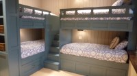 Pretty bunk bed with stairs in Kids Traditional with Bunk ...