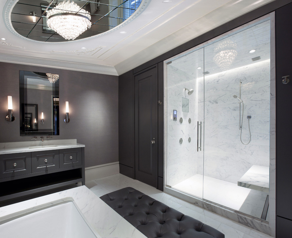 Magnificent Tub Transfer Bench In Bathroom Contemporary