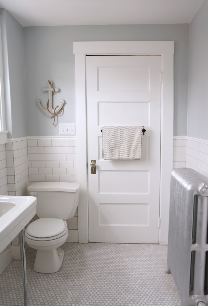 Good Looking american olean in Bathroom Traditional with Pencil Tile next to Bathroom Porcelain