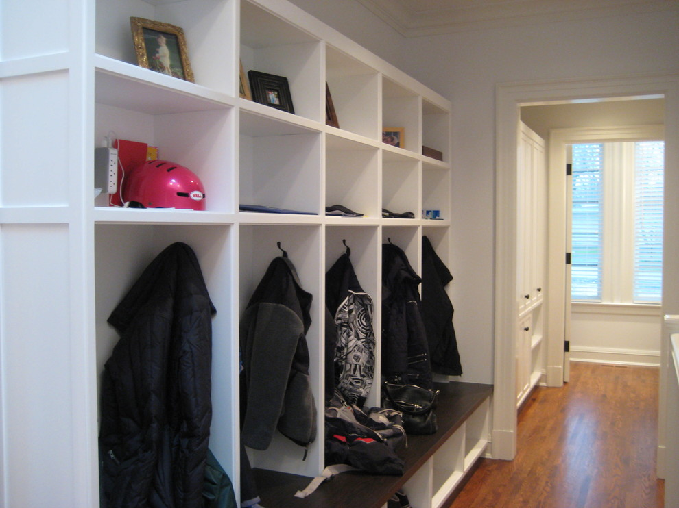 Sumptuous Cubbies In Hall Traditional With Mudroom Locker