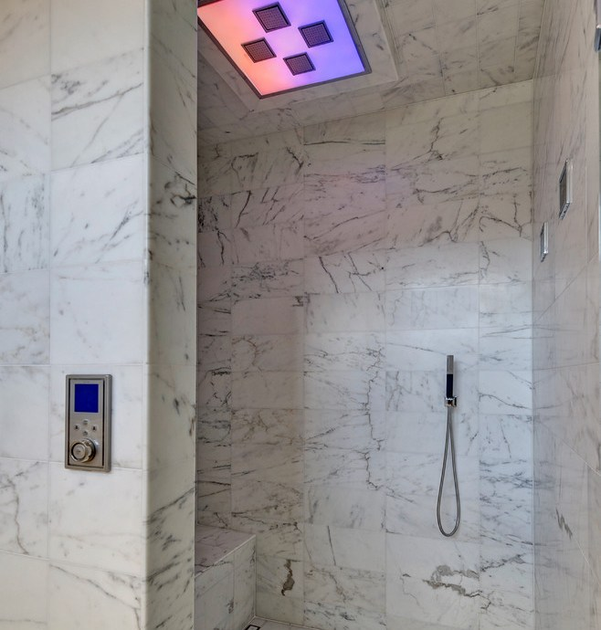 Beautiful kohler shower base in Bathroom Contemporary with Low Cost House Designs next to Bathroom Shower Ideas alongside Handicapped Accessible Shower and Ceramic Tile Walk In Showers