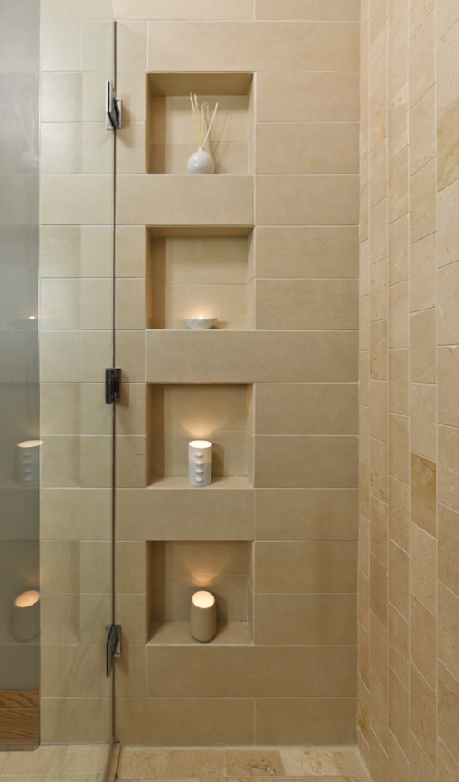 Beautiful plastic shower caddy in Bathroom Contemporary