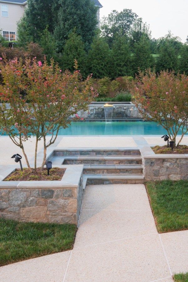 sumptuous above ground pool ladder