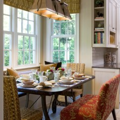 Settee For Kitchen Table Holiday Rugs Pretty Breakfast Nook Bench In Dining Room Traditional ...