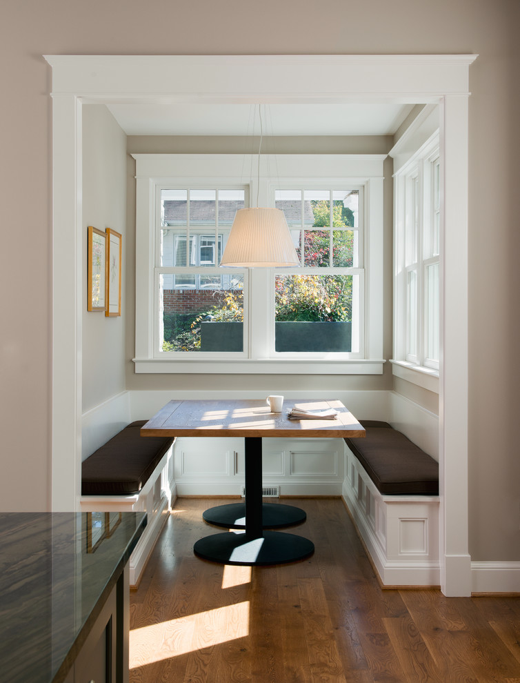 Breakfast Nooks In Kitchen Traditional With Remodeling Garage Into