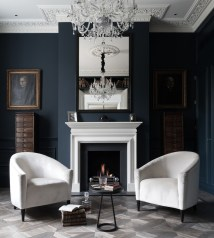 Chic Altra Furniture In Living Room Transitional With Dark