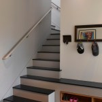 Chic hall tree storage bench in Staircase Contemporary with Diy Shoe Storage next to Wall Mounted Shoe Rack alongside Rotating Shoe Rack and Shoe Cabinet