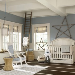 Toddler Reading Chair Dining Room Slipcovers White Chic Nursery Rocker In Traditional Eanf With Rustic Accents Next To Empire ...