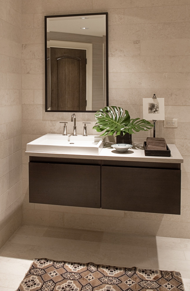 Cool kohler purist in Bathroom Contemporary with Floating